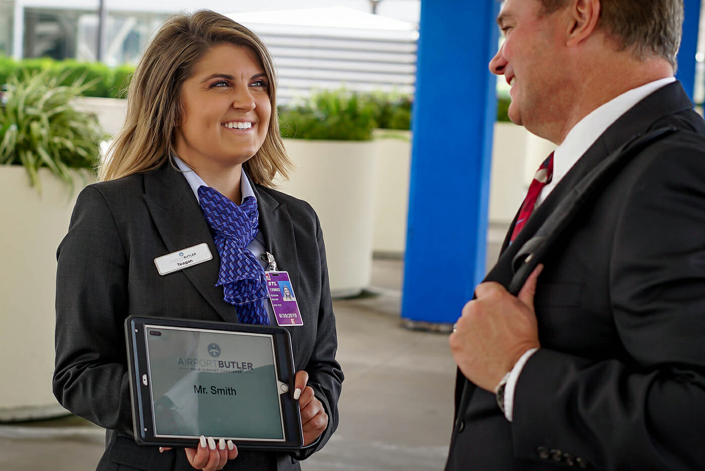 To take the stress out of airports, hire an Airport Butler to take care of your traveling party