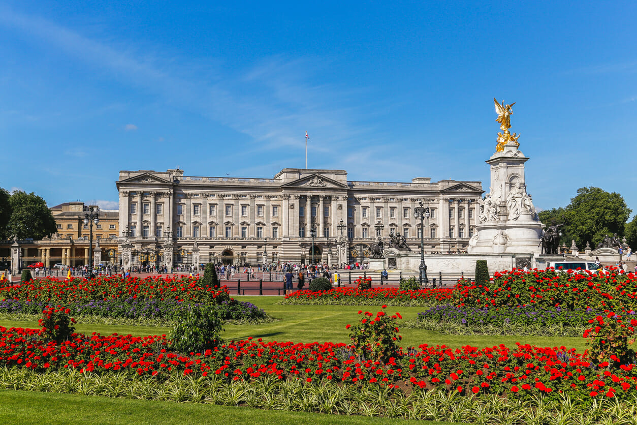 Buckingham Palace in the Summer, London