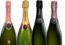 Champagnes Bollinger and Ayala