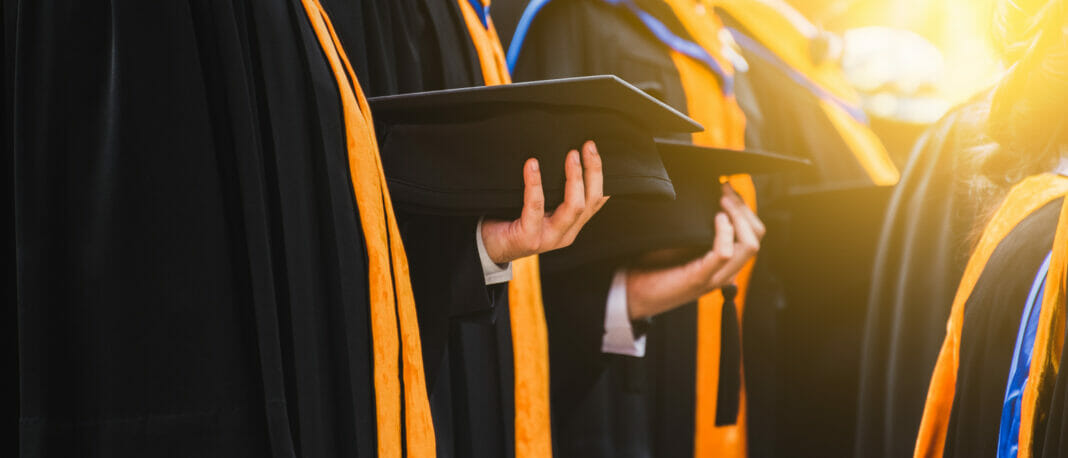 Formal education is achieving a life of luxury