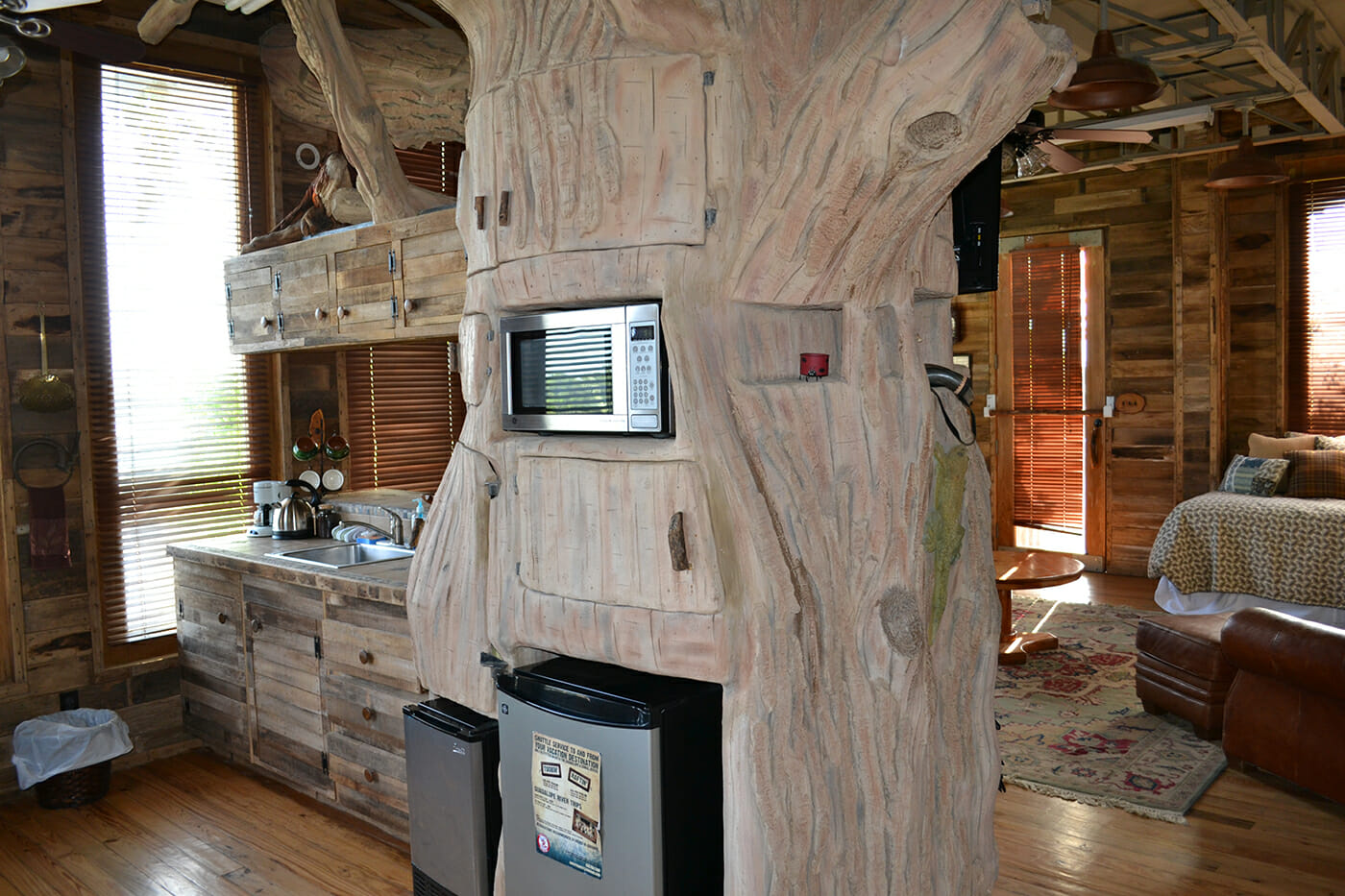 secluded Treehouse owned by Guadalupe River Houses in Texas