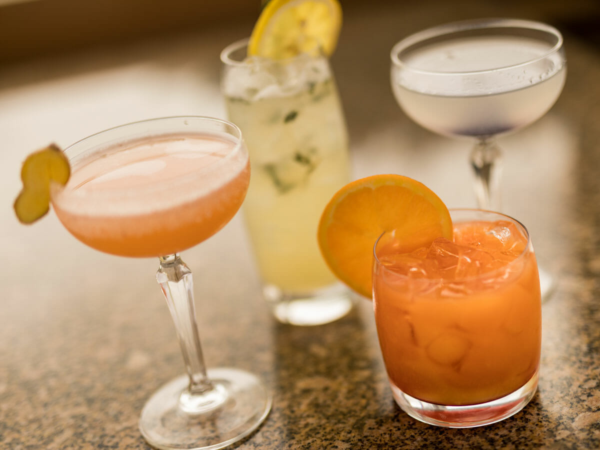 Libations at Beverly's Restaurant