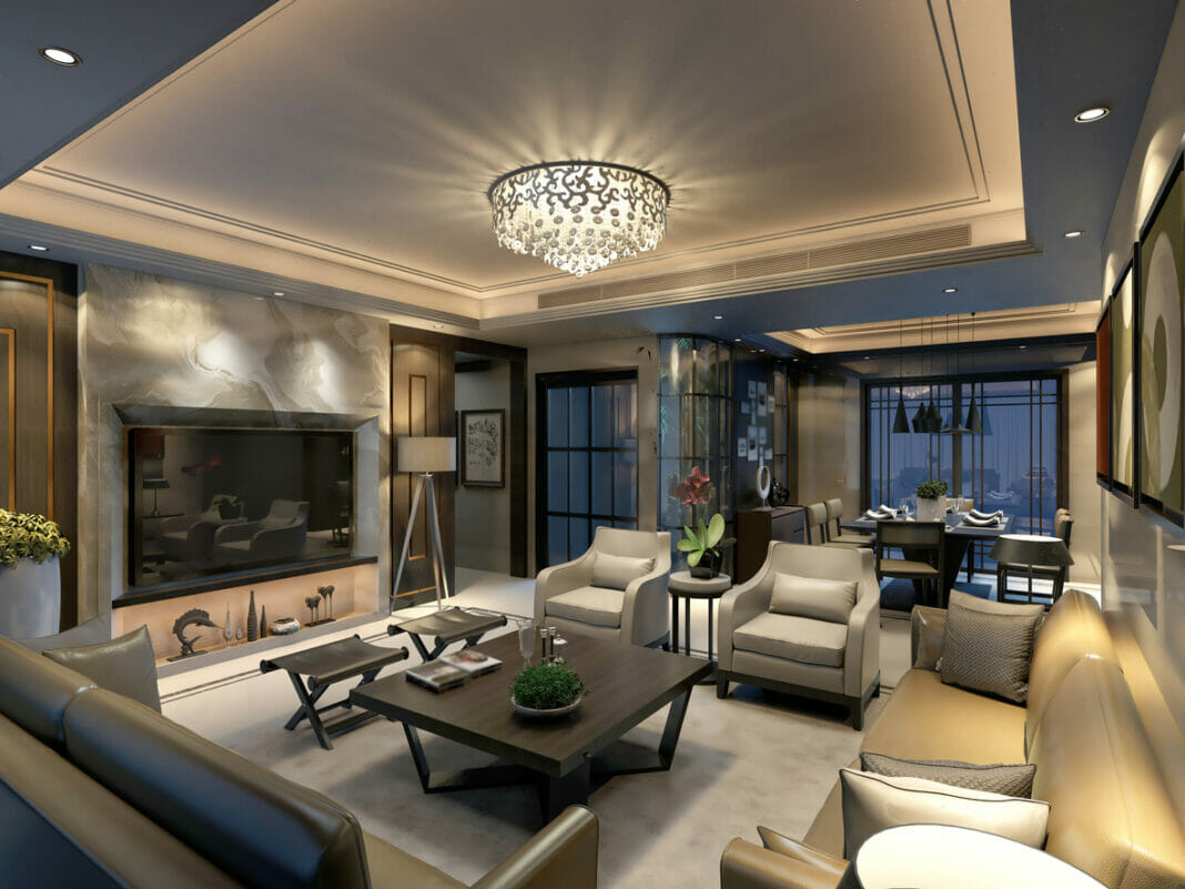 luxurious home space