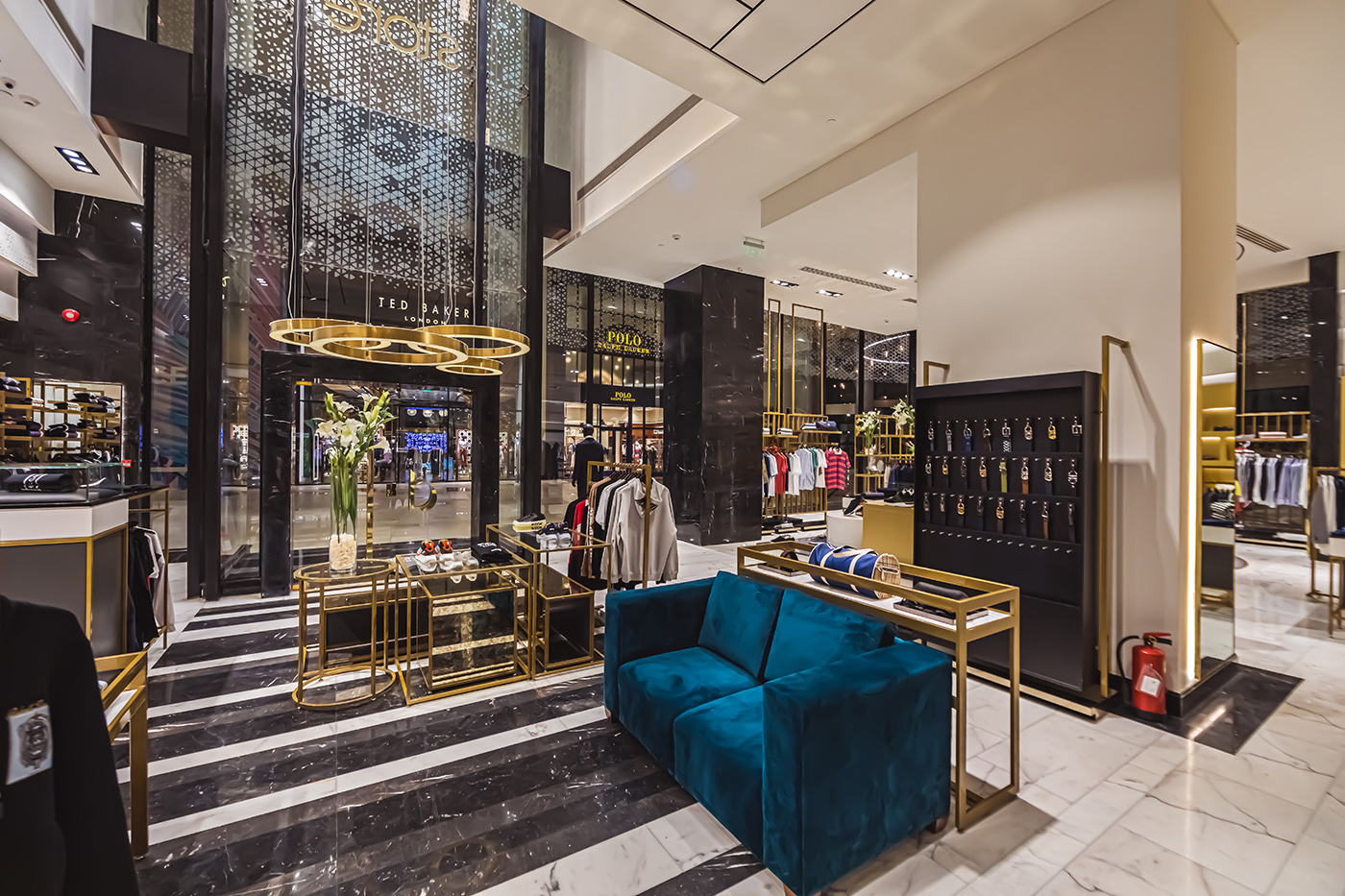 dstoreis a luxury multi-brand fashion store by Nile Projects