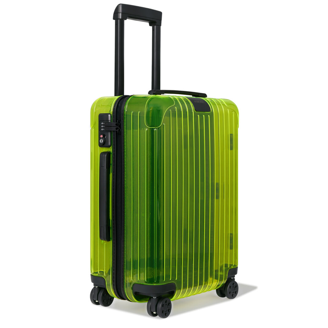 Essential Neon Lime RIMOWA-Travel Suitcase collection