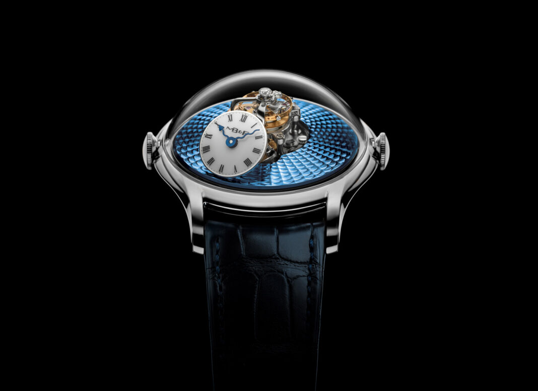 MB&F Flying T watch