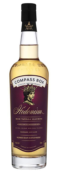 Hedonism Compass Box whisky