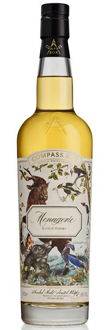 Menagerie Compass Box whiskey