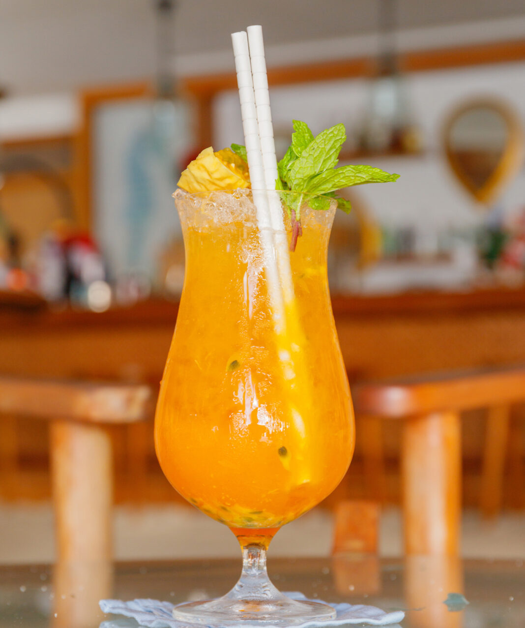 ThePassion Cocktailfrom Milaidhoo Island Maldives