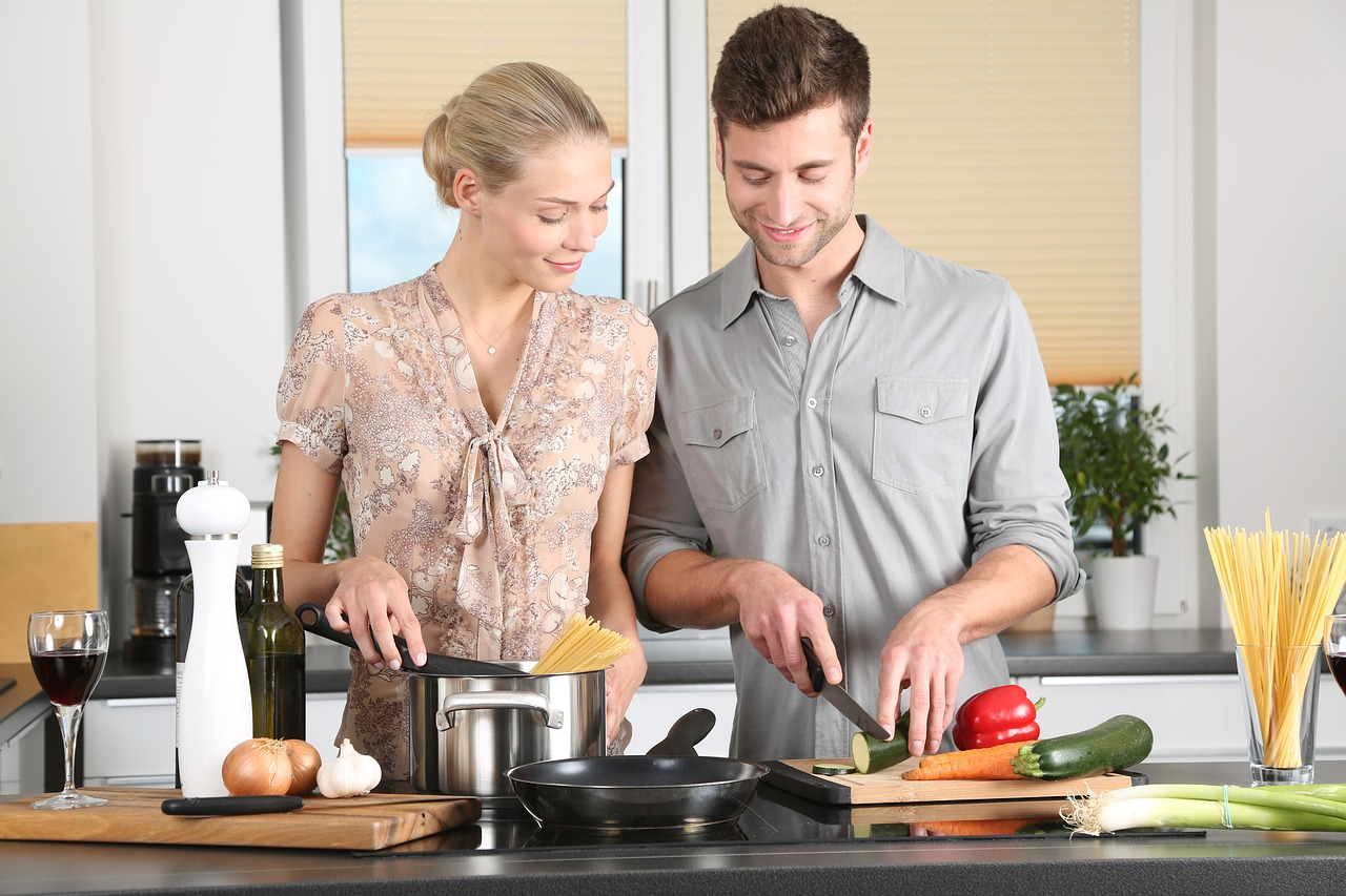 cooking together is a hobby