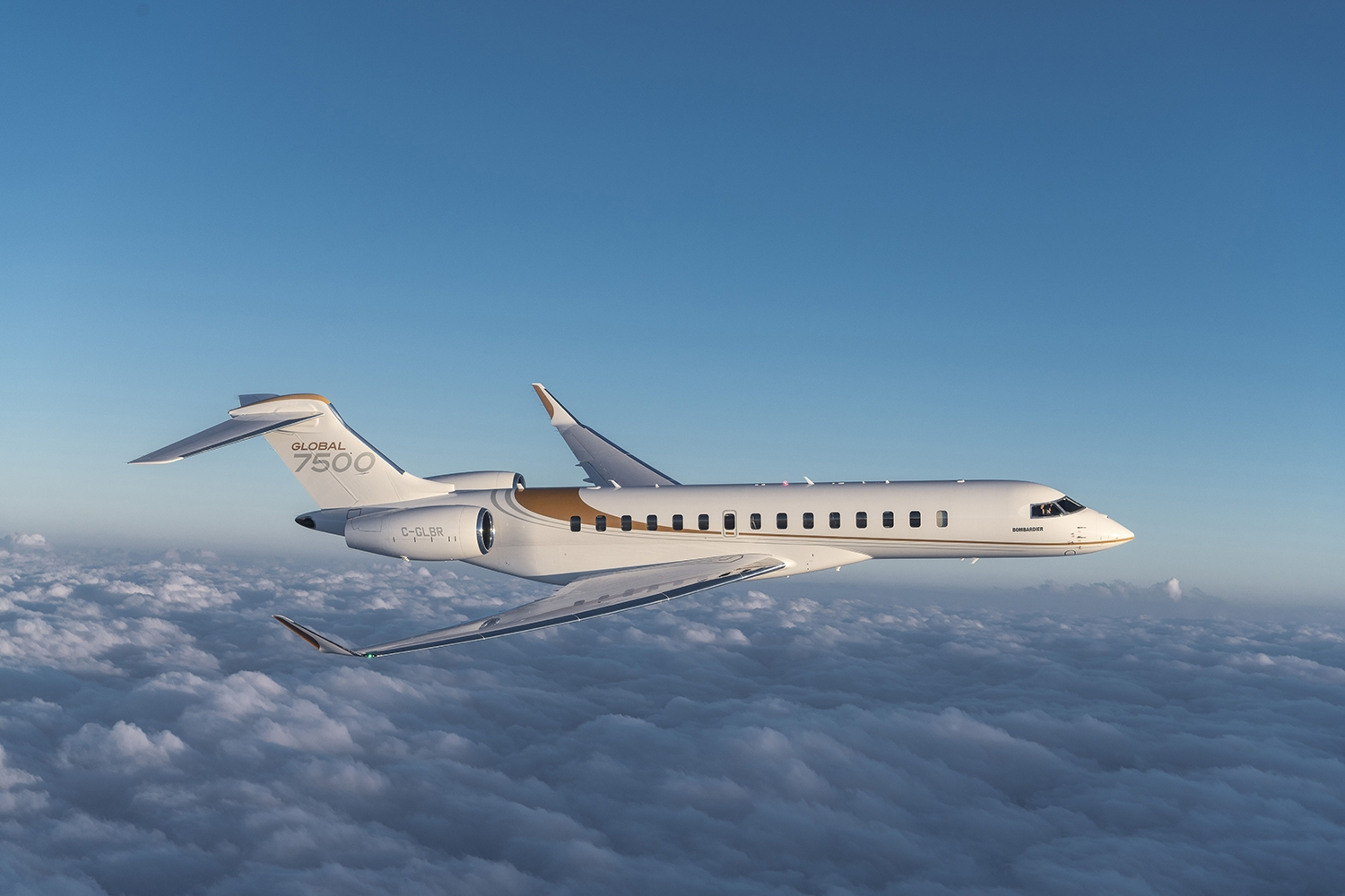 Bombardier Global 7500 private jet
