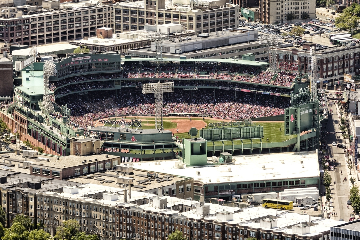 Fenway Park Sporting Event