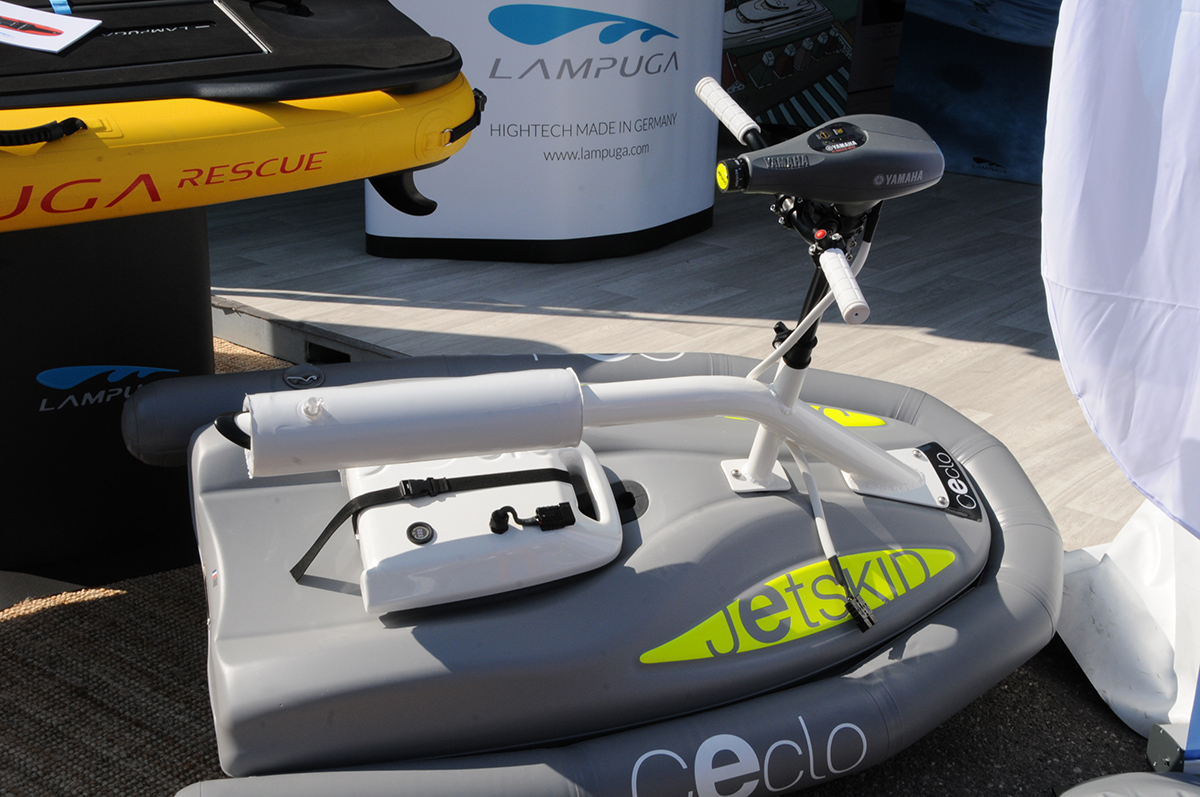 Jetskid at the 2021 Cannes Yacht Festival