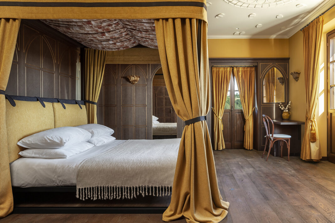 hotel Nordelaia designed by These White Walls Design Studio