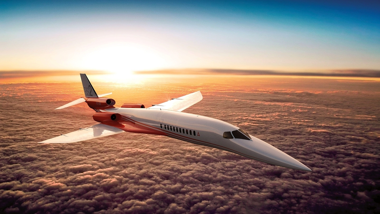 Aerion AS2 private jet