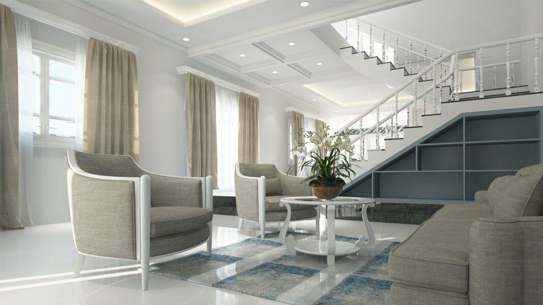 the interior of your new home
