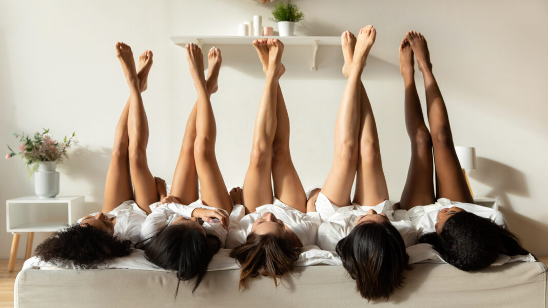 ladies who went for waxing their legs