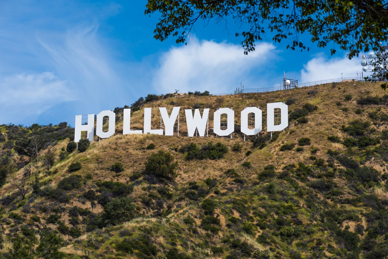 The Hollywood Sign in LA California