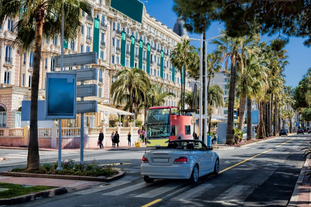 Boat Trips on the French Riviera, Cannes, La Croisette