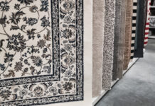 different types of area rugs